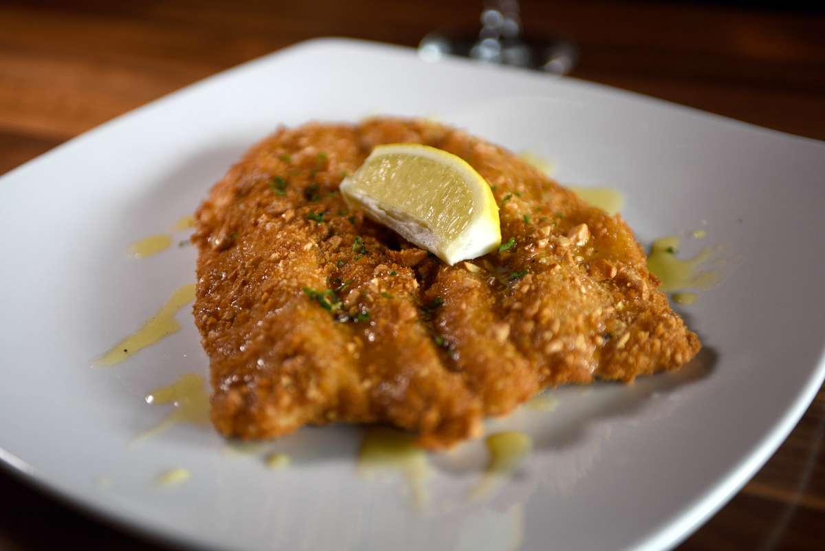 Cashew Crusted Trout