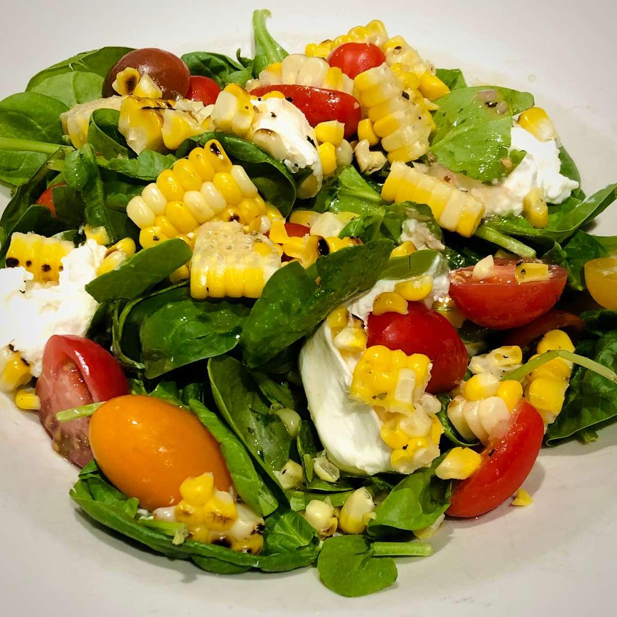 Late Harvest Corn & Tomato Salad