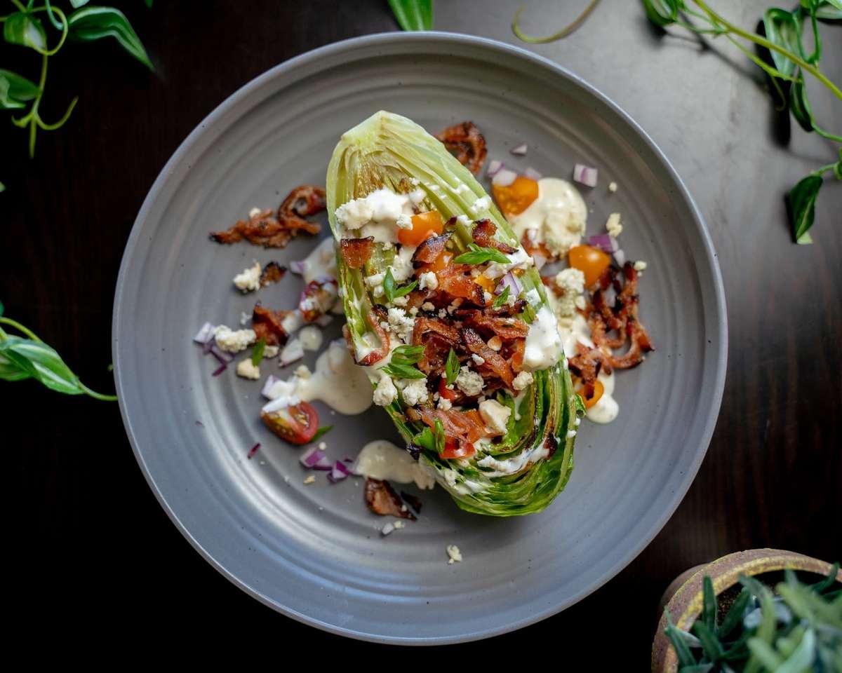 Grilled Artisan Wedge Salad