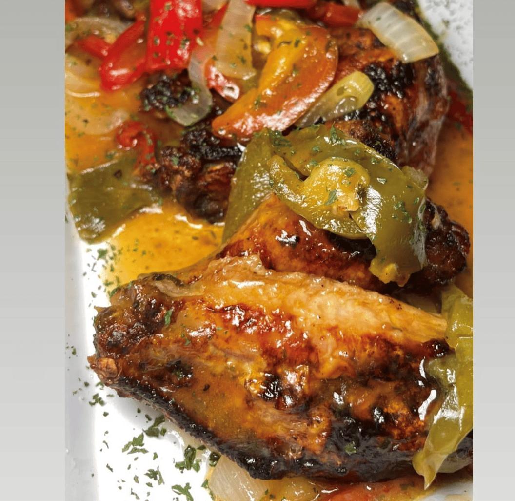 Chicken Scarpariello Wings