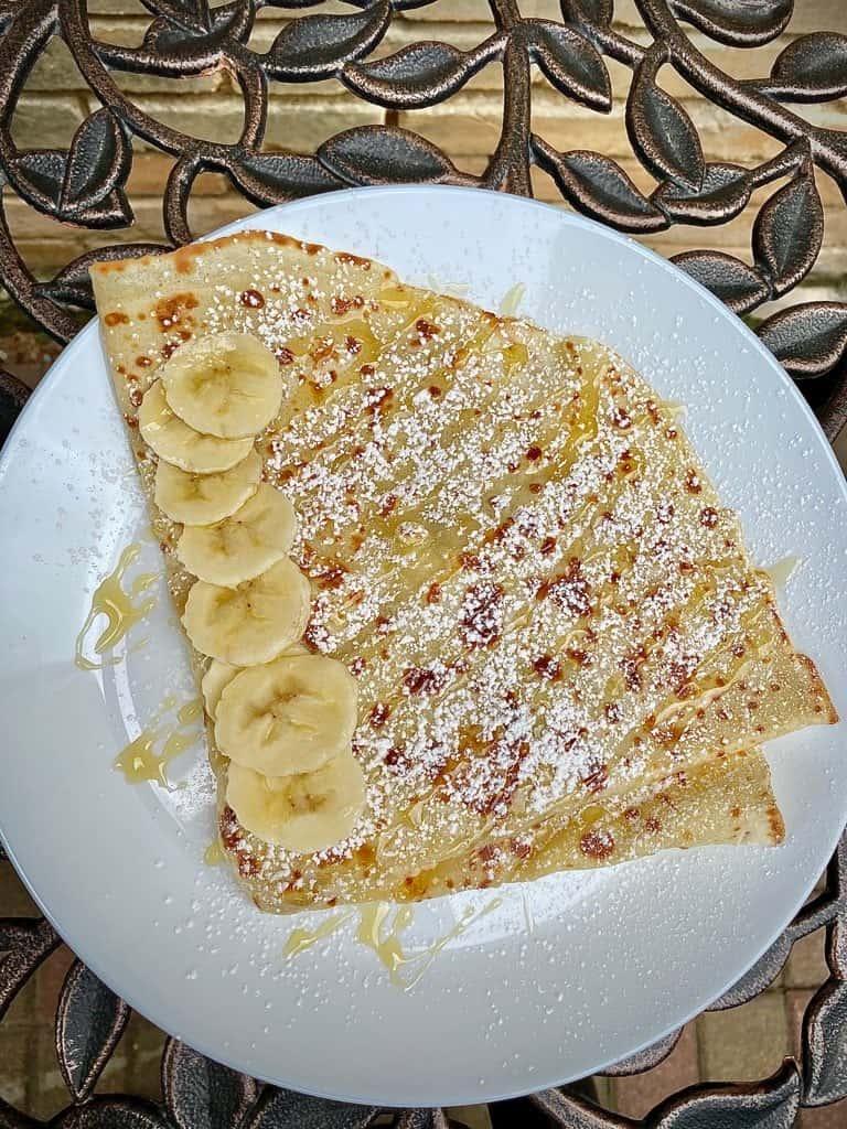 Banana & Honey Crepe