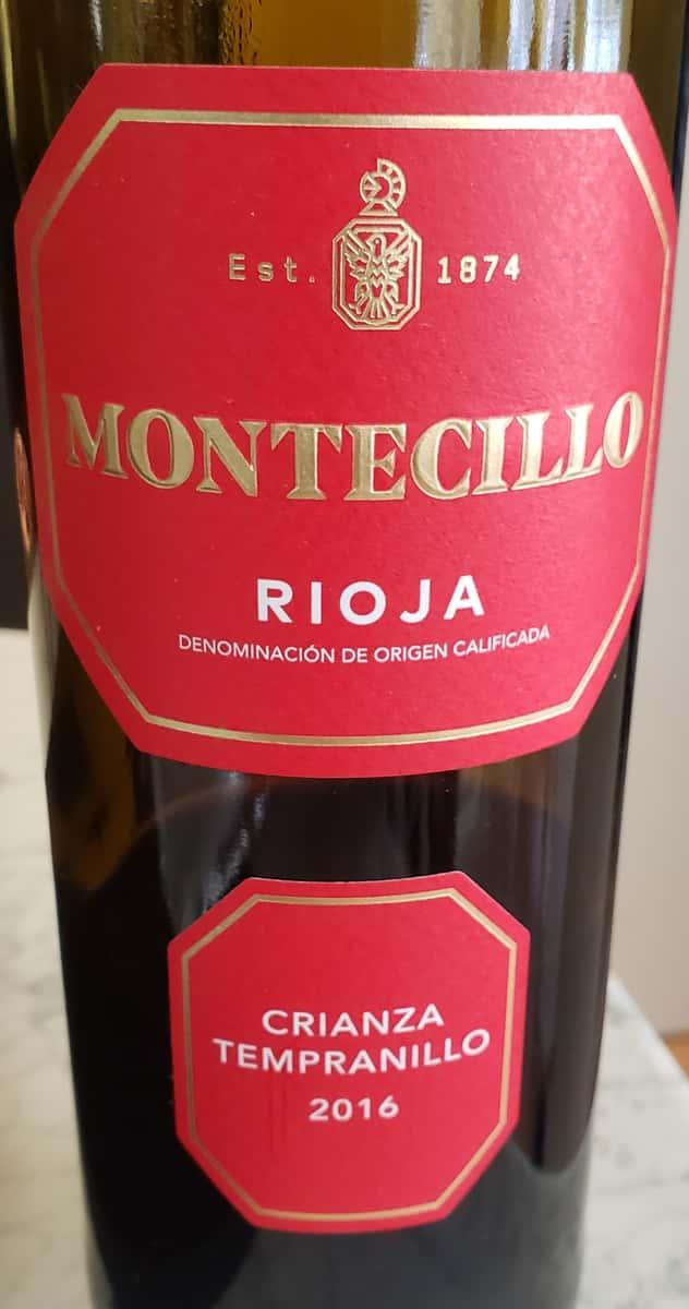 Montecillo Rioja Crianza Tempranillo