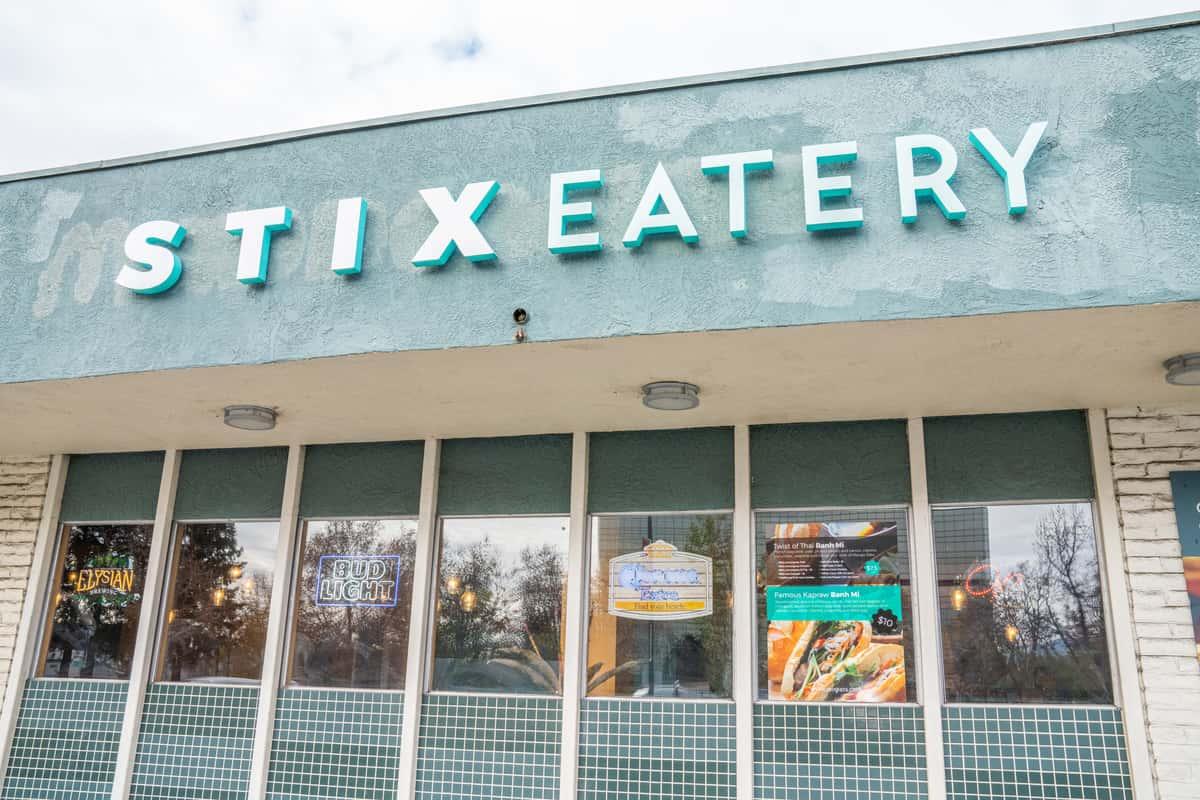 Stix Eatery entrance