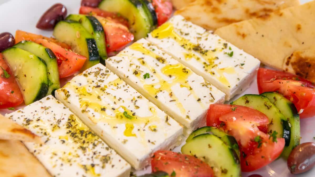 Feta Cheese Slices