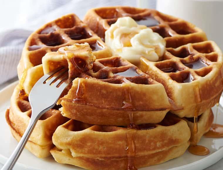 Plain Belgian Waffle