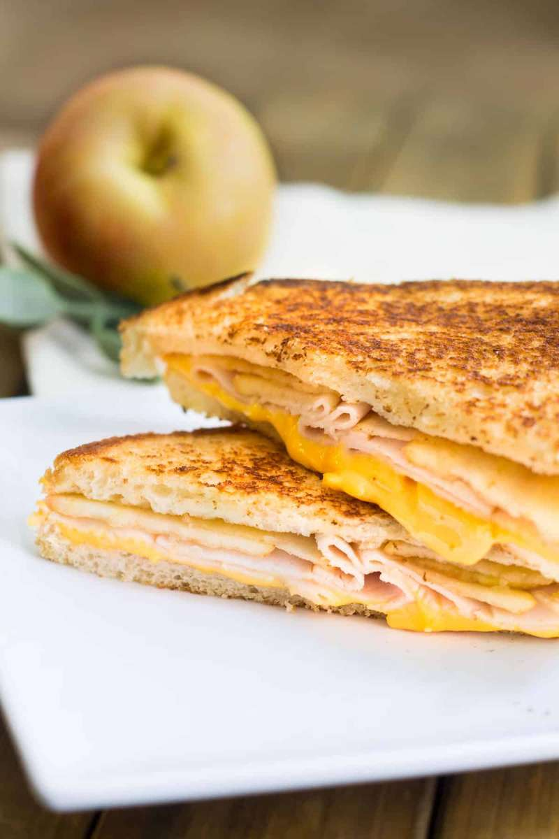 Turkey, Egg, and Cheese Sandwich