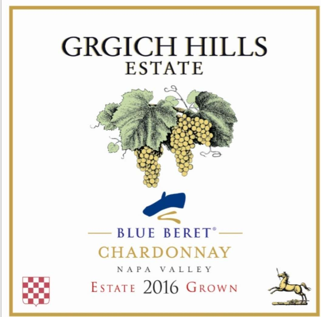 Grgich Hills Estate Blue Beret Chardonnay '16