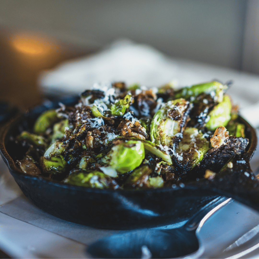 SHAVED BRUSSELS SPROUTS SAUTE
