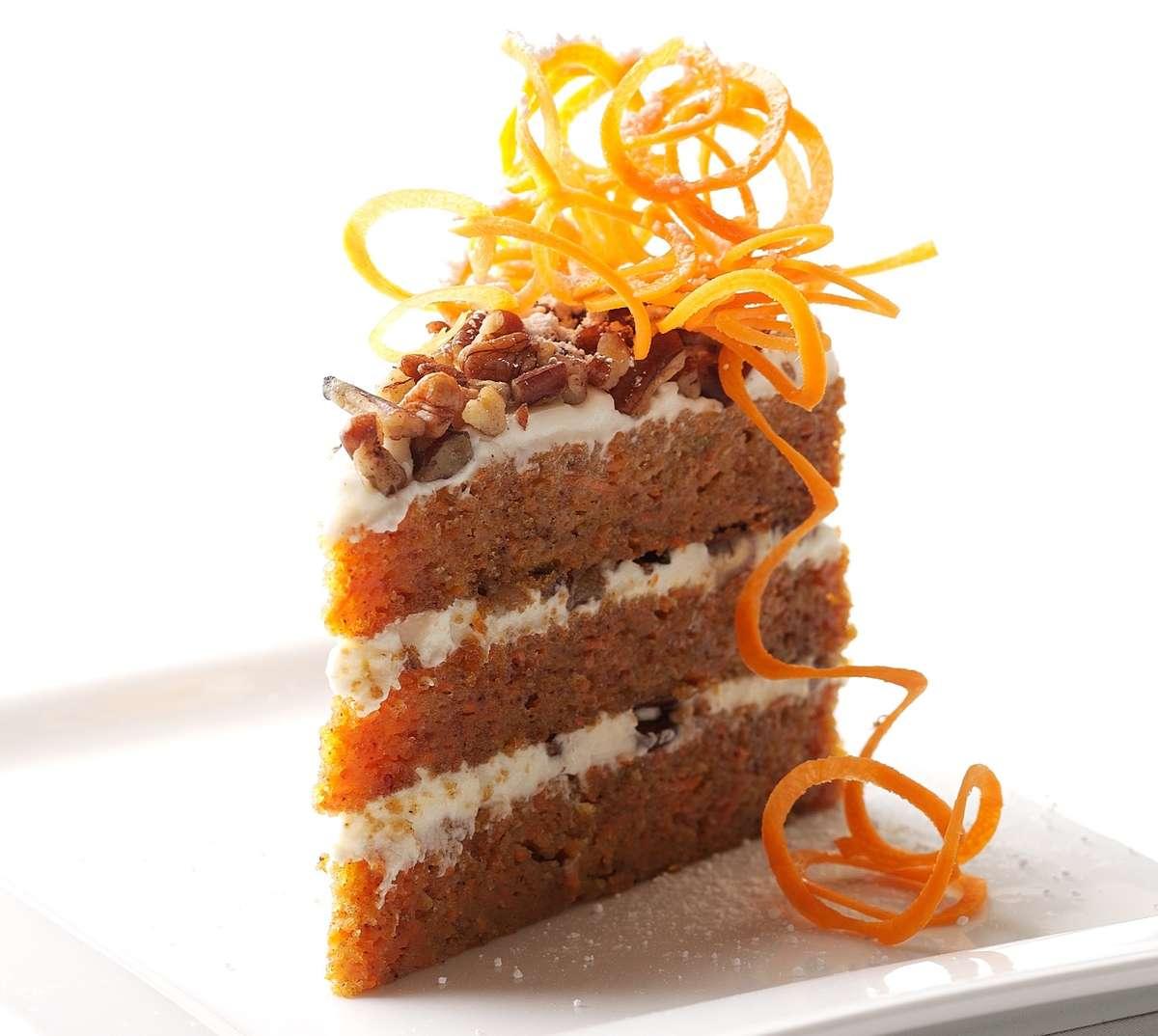Hannah's Signature Carrot Cake
