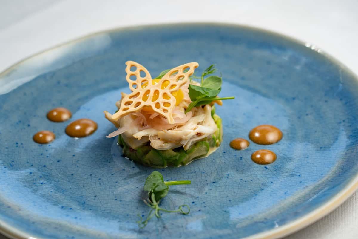 Crab & Asparagus