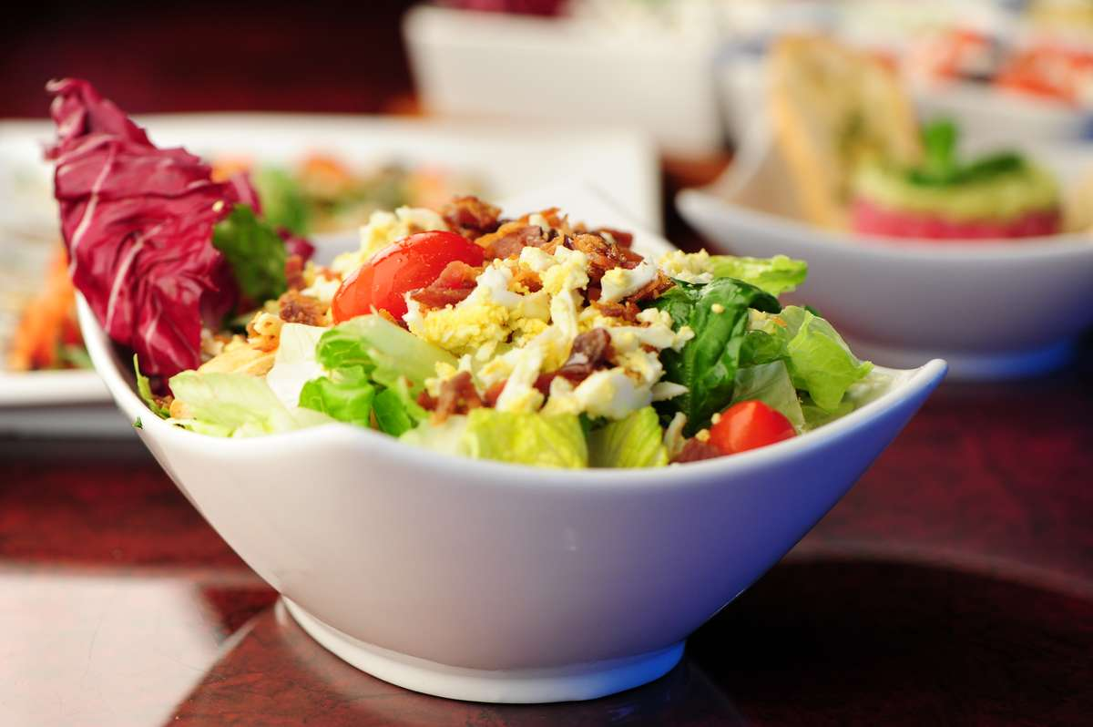 Luxe House Salad