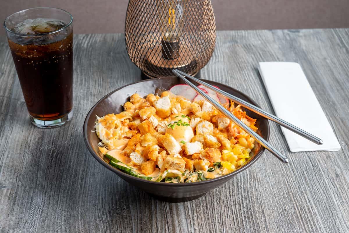 Korean Fried Chicken Bowl