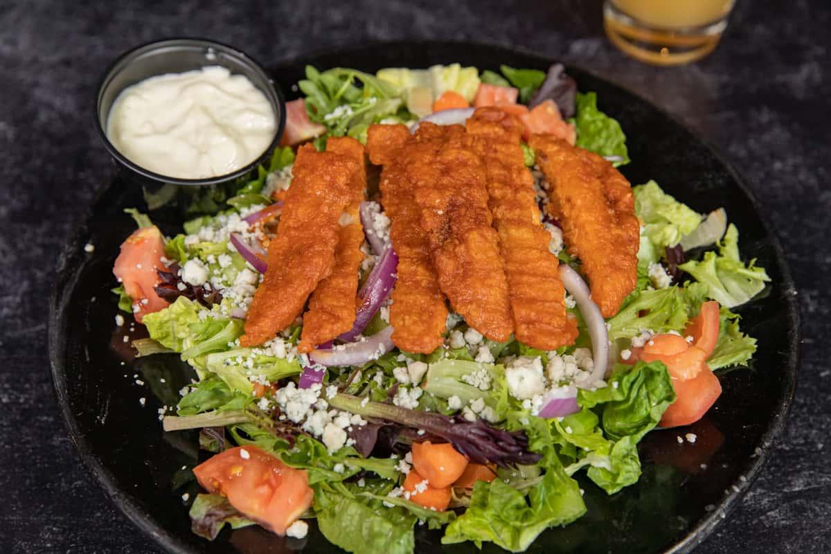 Lockport Chicken Finger Salad