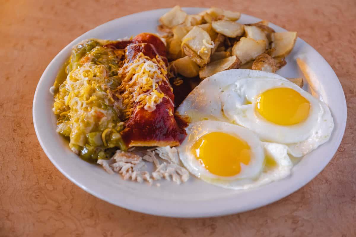 #63 Enchiladas & Eggs