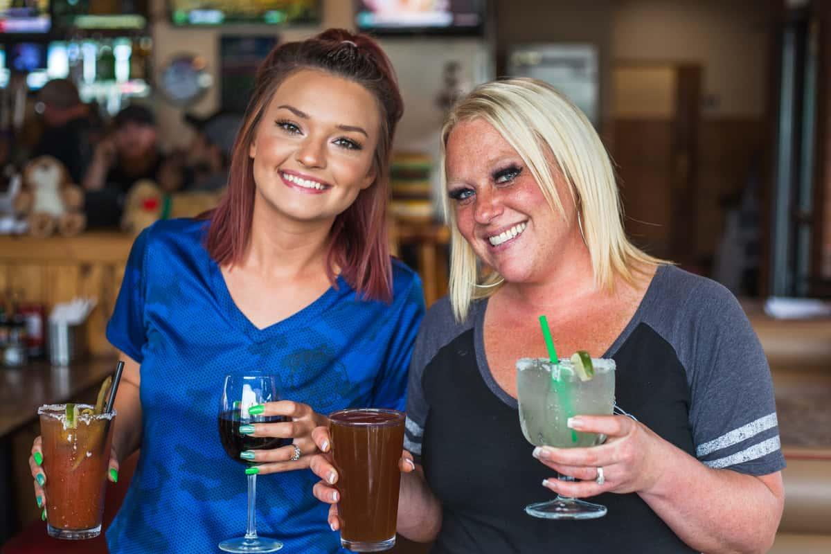 Bruno's waitresses