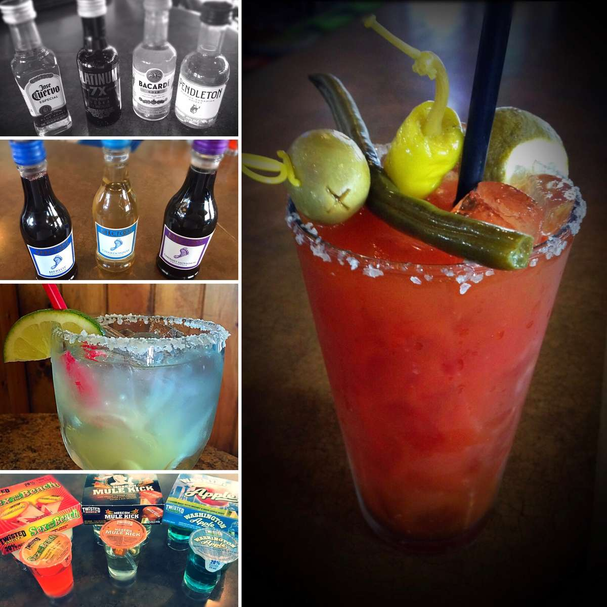 Alcohol Takeout Menu