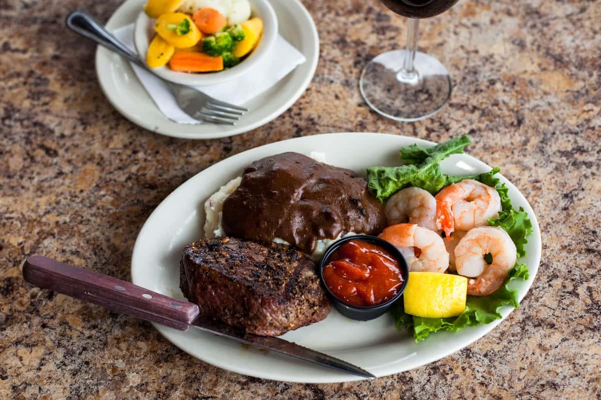 Steak & Shrimp*
