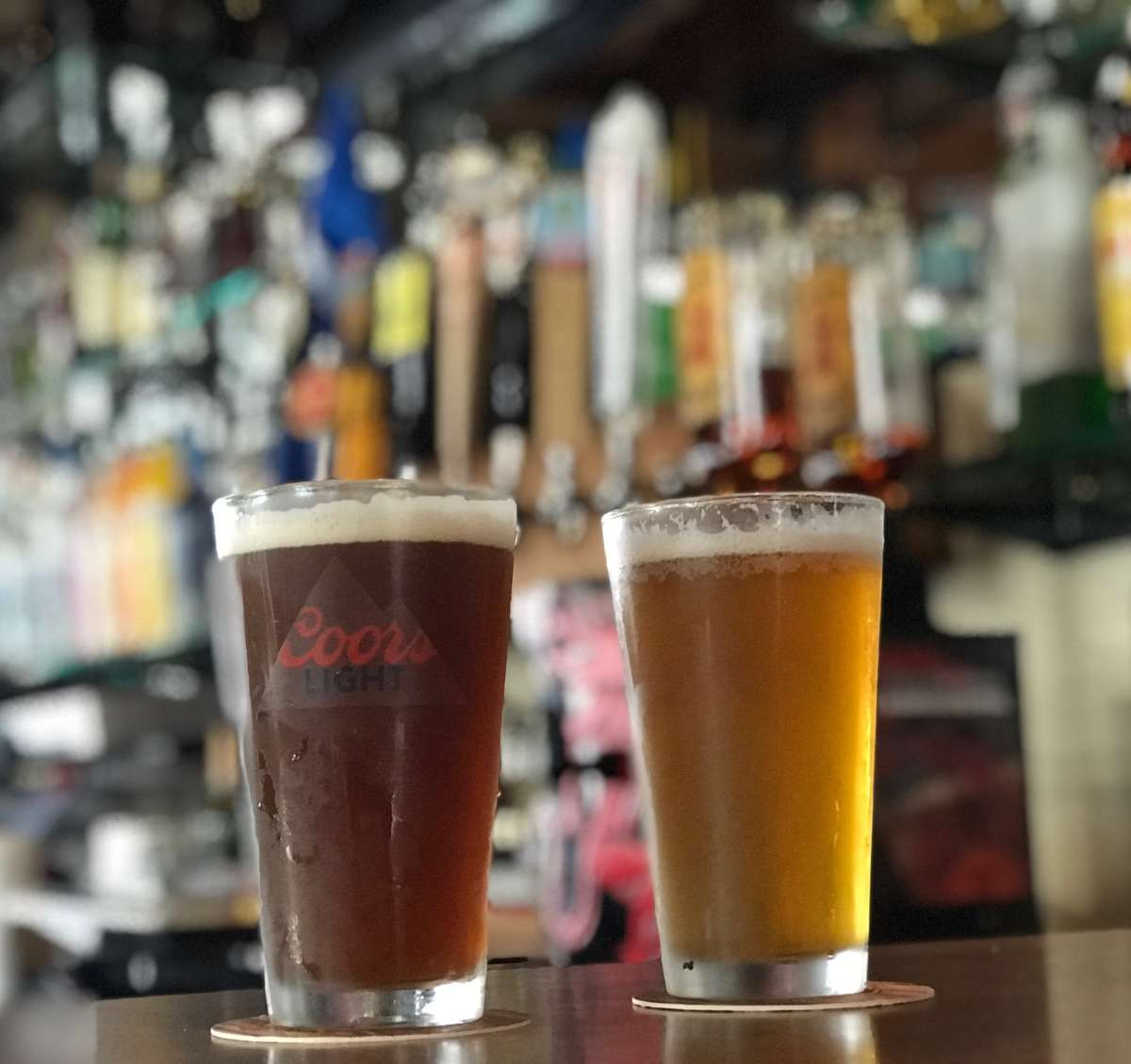 Cold Draft Beers
