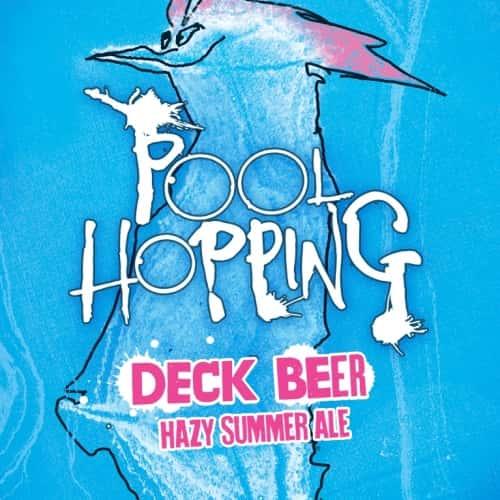 Flying Dog Pool Hopping