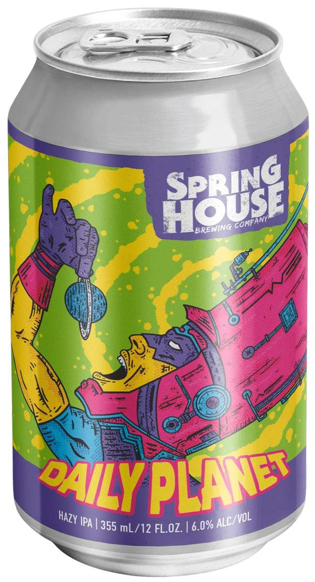 Spring House Daily Planet IPA
