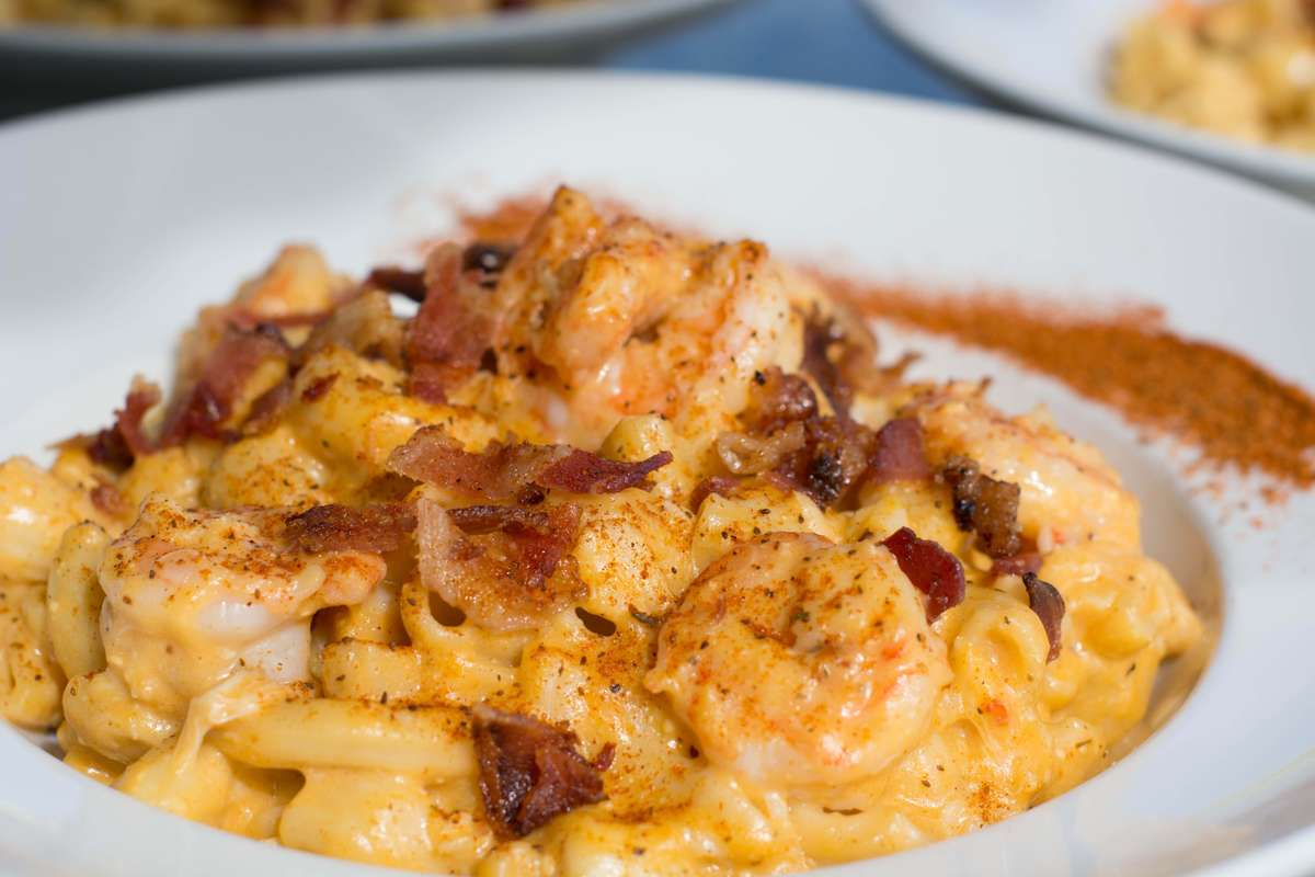 Crab, Shrimp Mac n Cheese