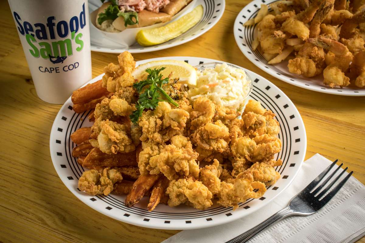 Fried Cape Cod Whole Belly Clam Plate