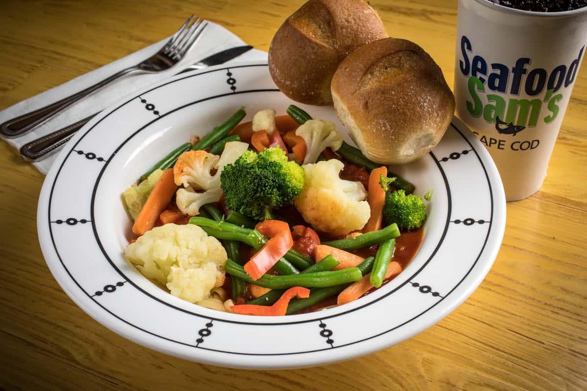 Vegetarian Pasta Platter Delight