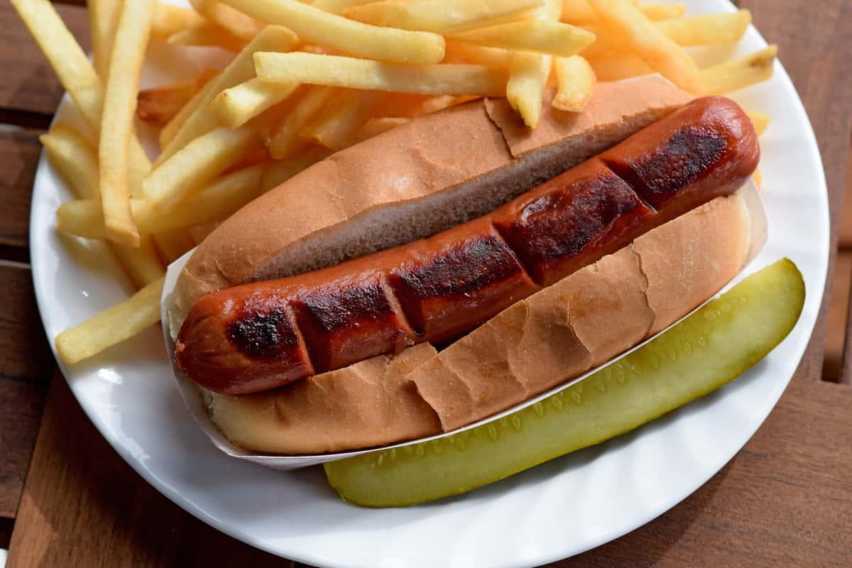 Big, Big Hot Dog