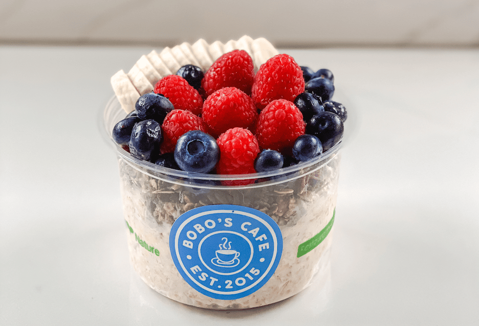 HOT or COLD OVERNIGHT OATS