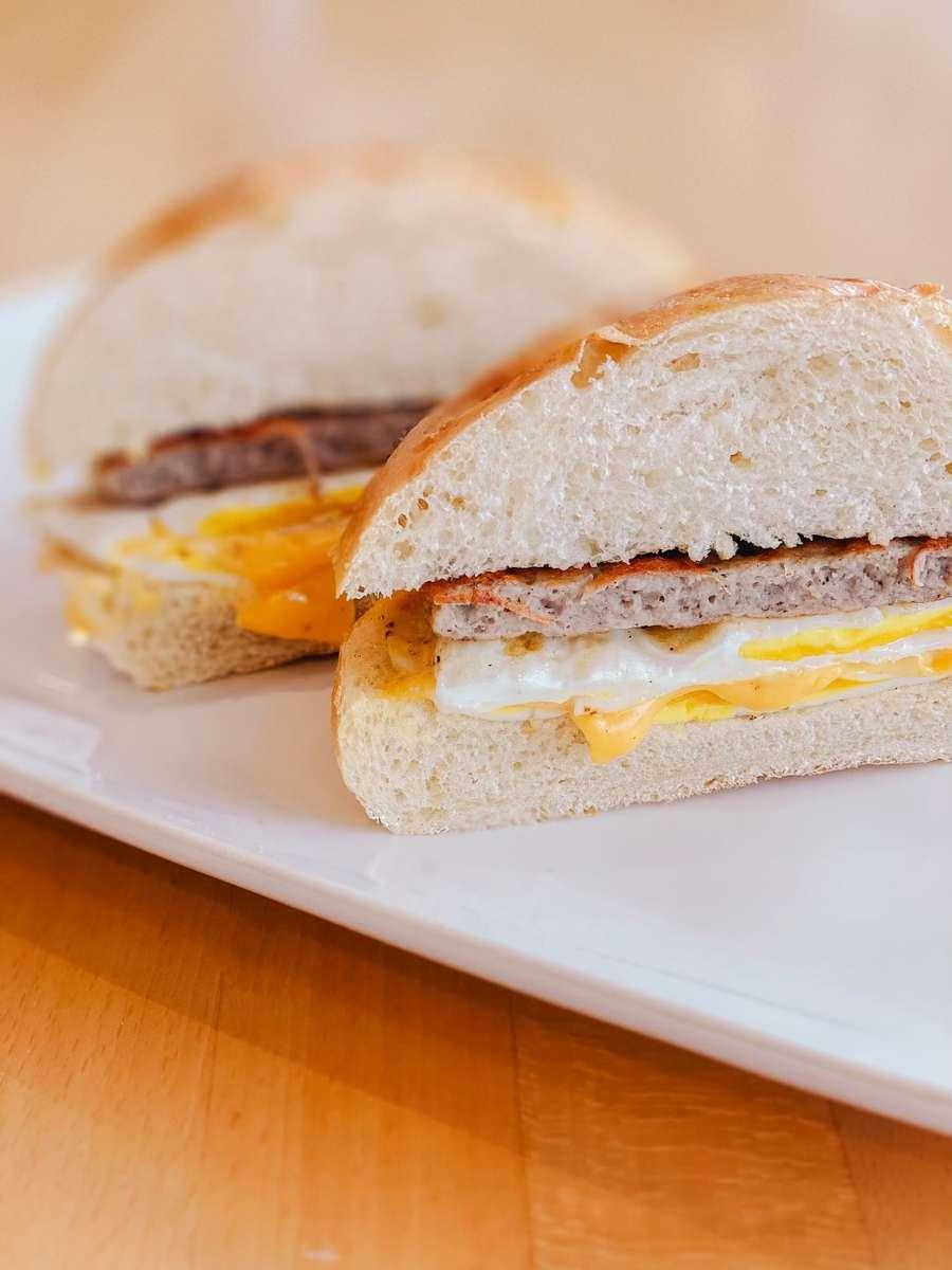 Sausage, Egg, Cheddar