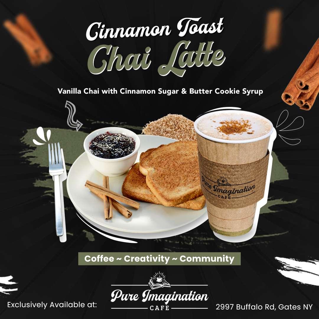 Cinnamon Toast Chai Latte