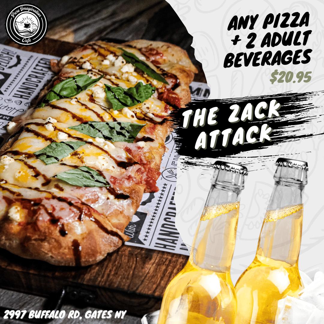 The Zack Attack Pizza