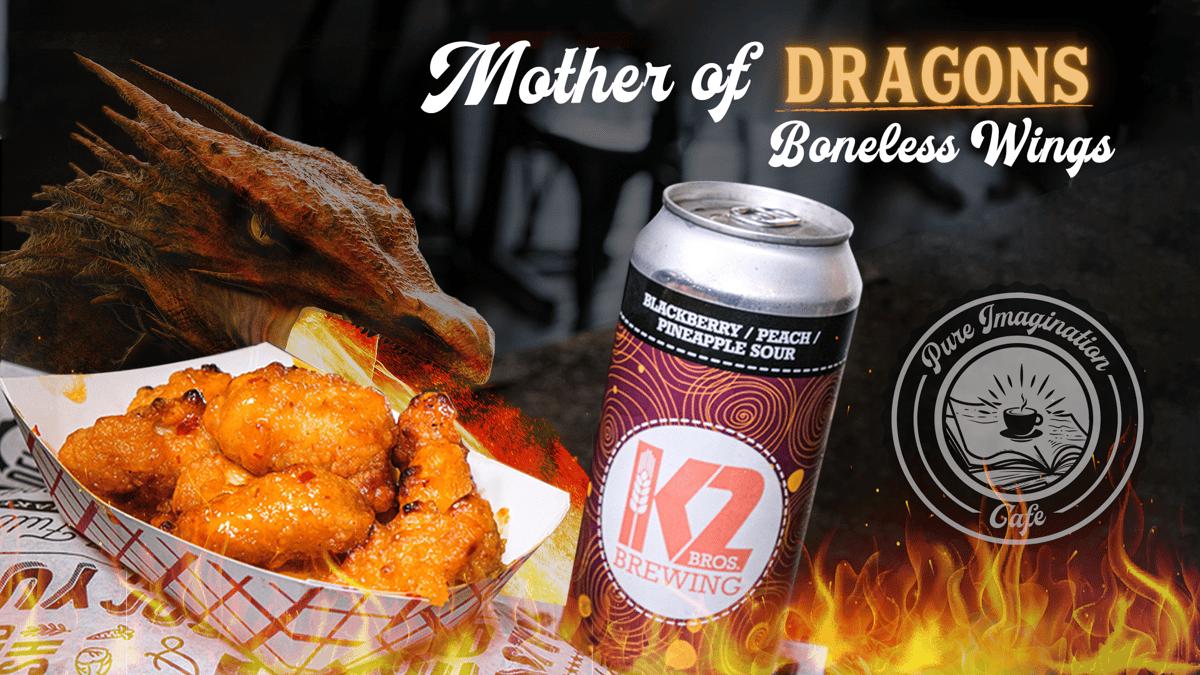 Mother of Dragons Boneless Wings