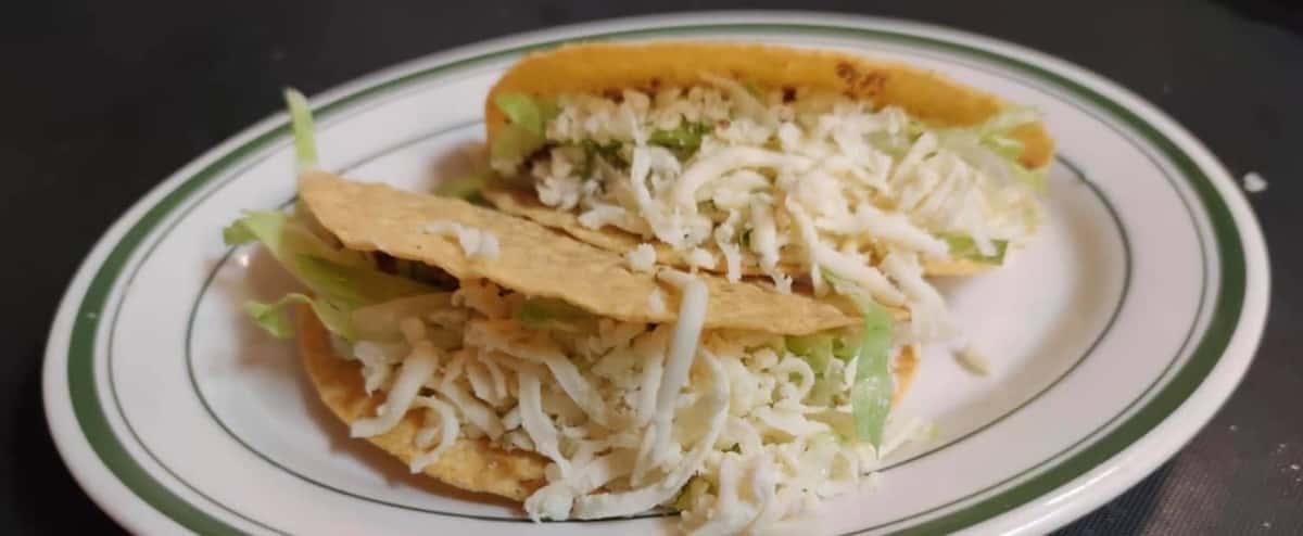 Chicken Hard Tacos (3)