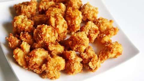 8pc Popcorn Chicken