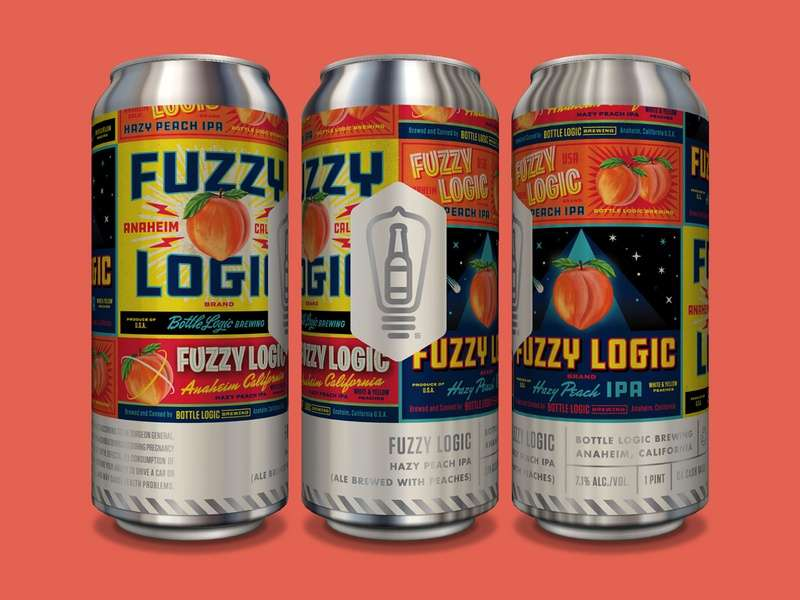 Fuzzy Logic Hazy Peach IPA