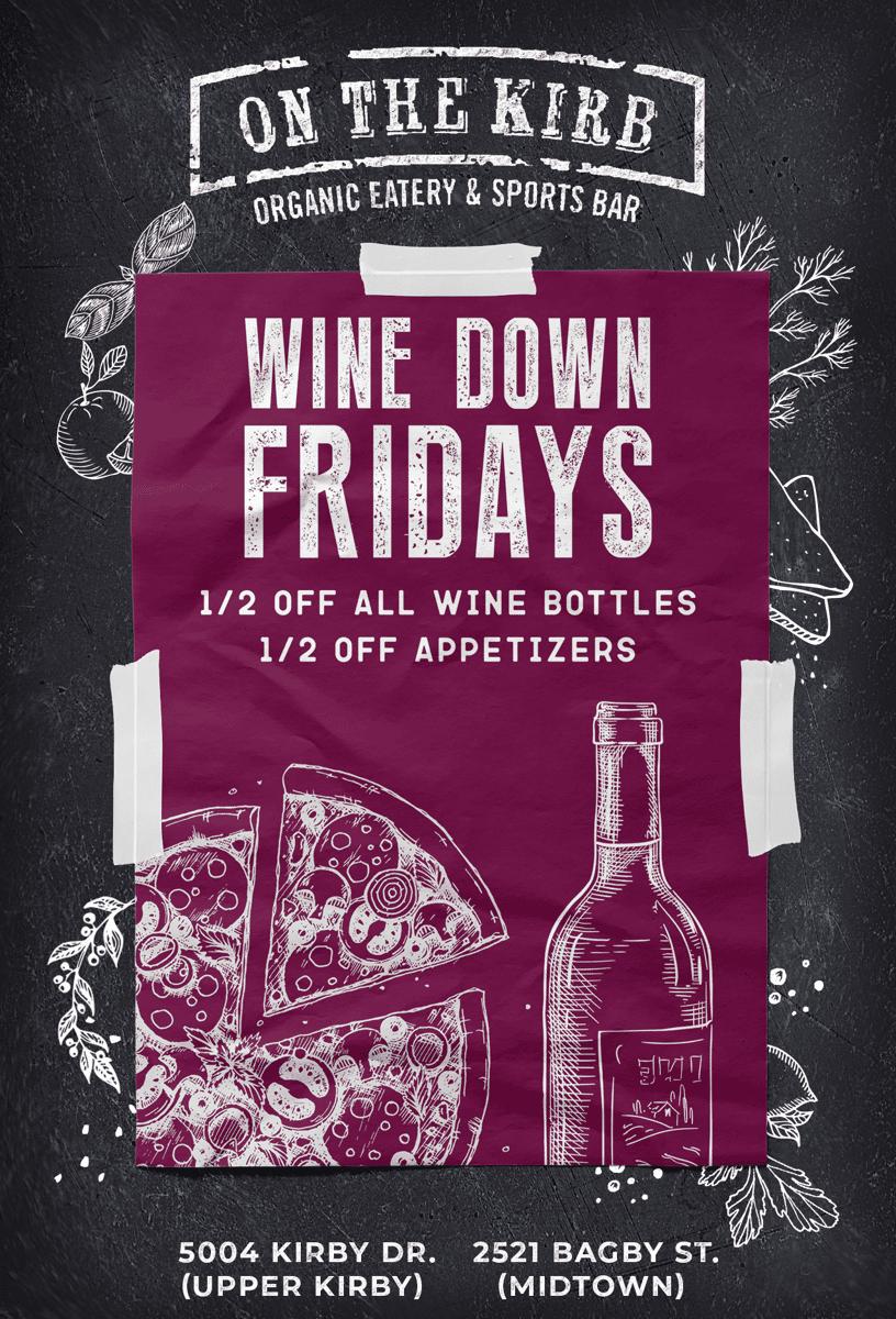 Friday | Wine Down