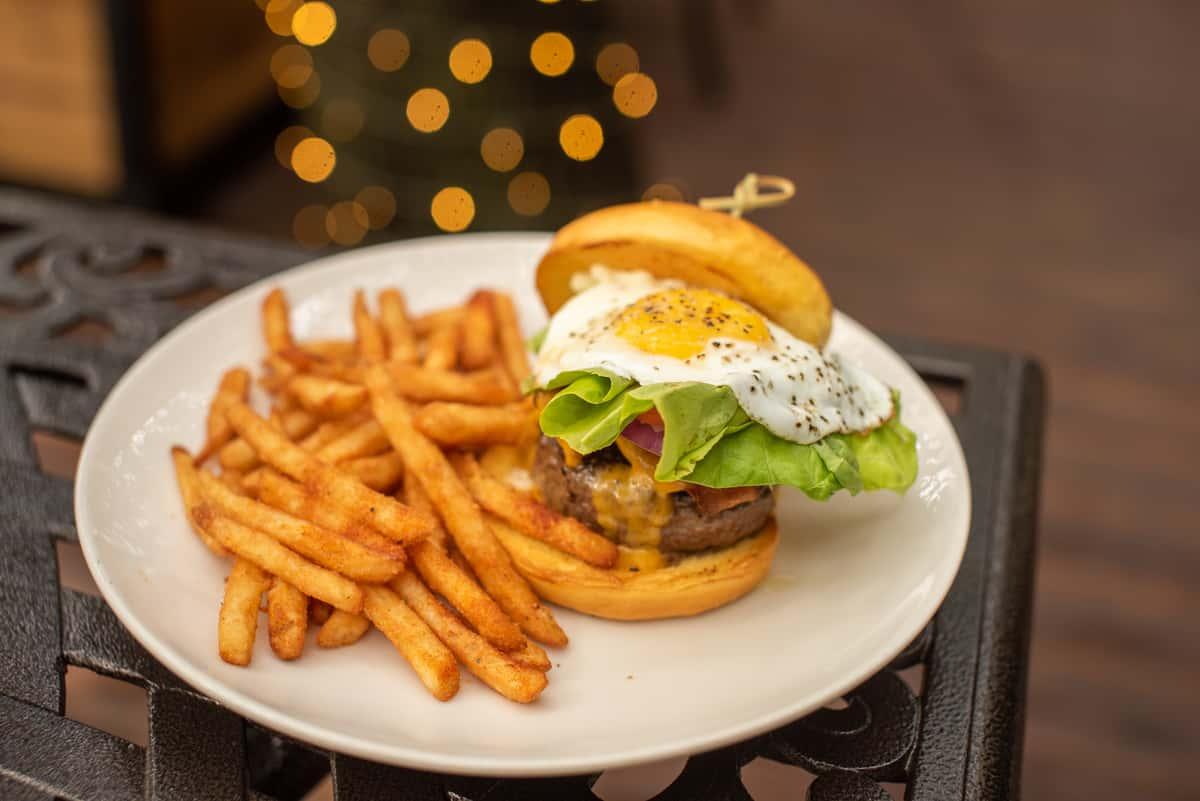 Kirb Sunrise Burger