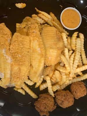 Fried Tilapia Plate