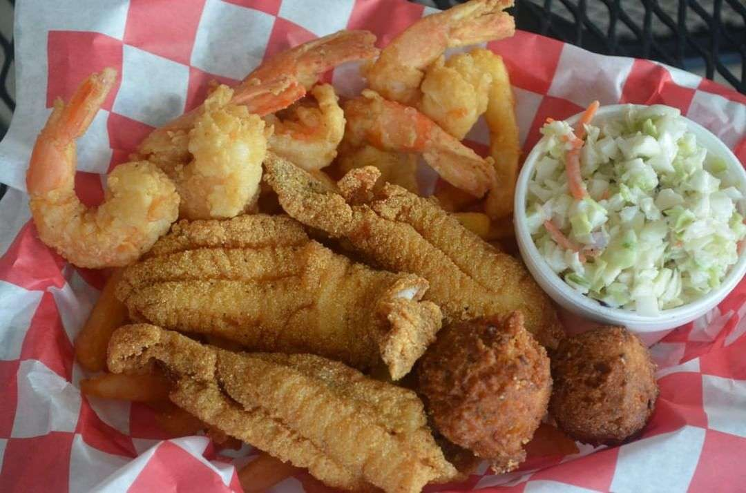 Fish and Shrimp Dinner