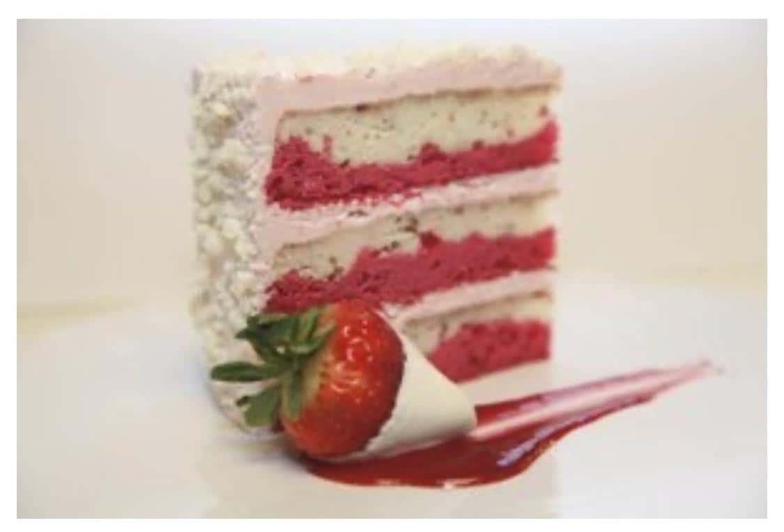 Strawberry Float Cake