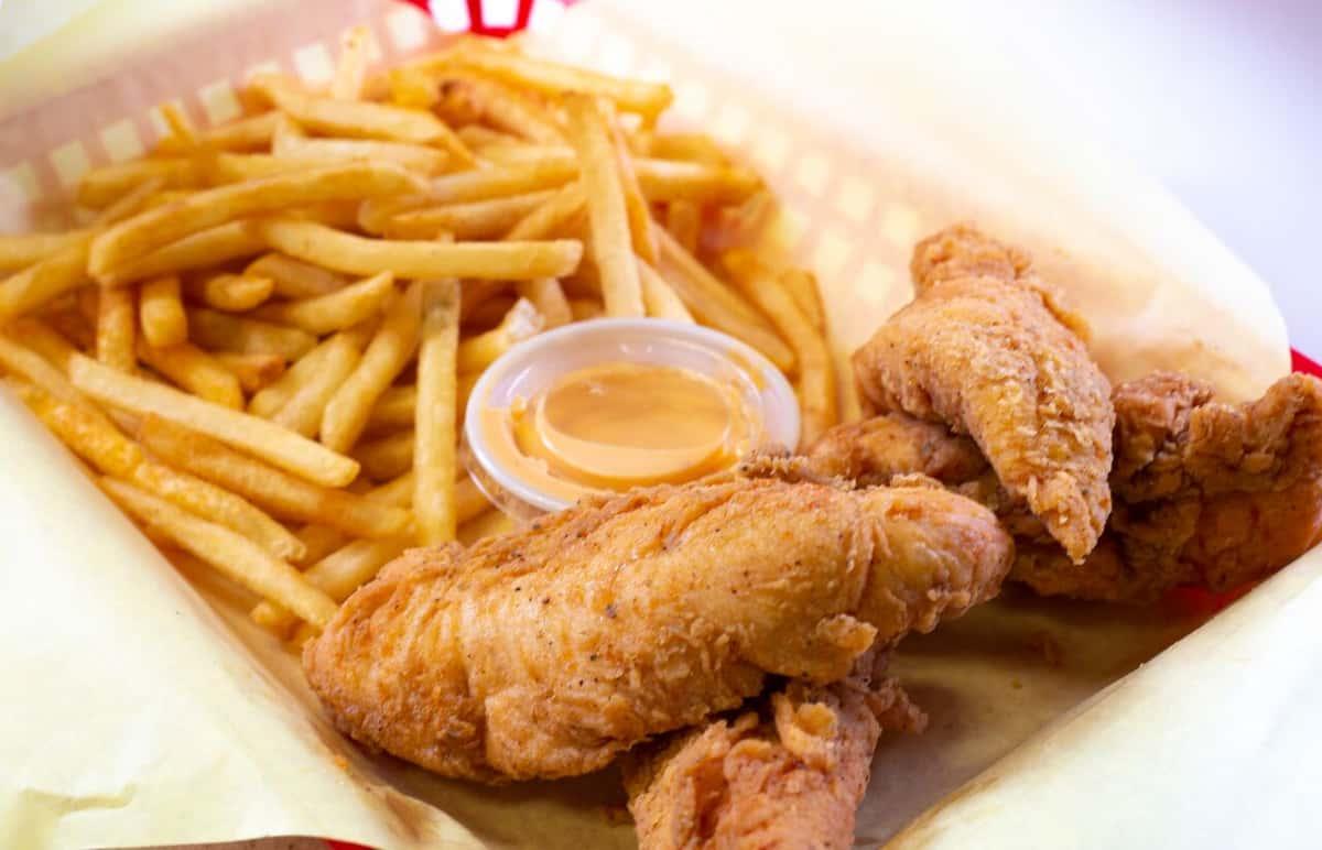 Cajun Chicken Tenders