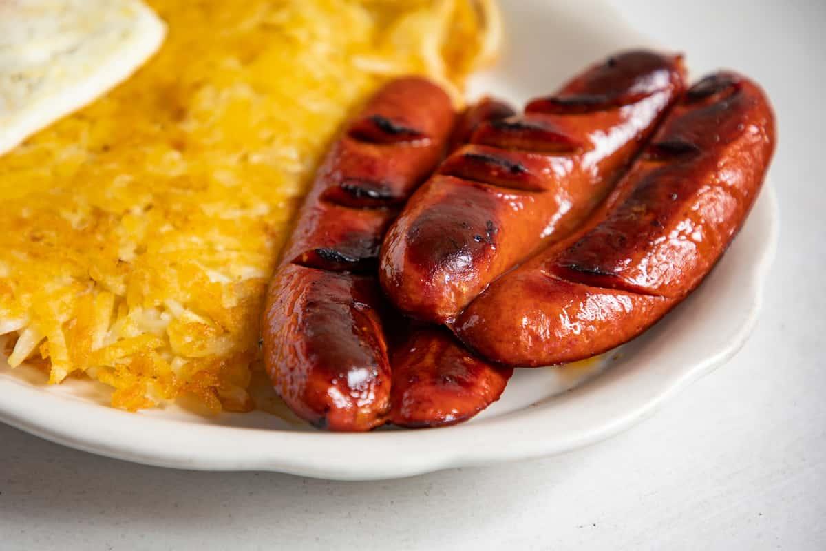 sausage and hashbrowns