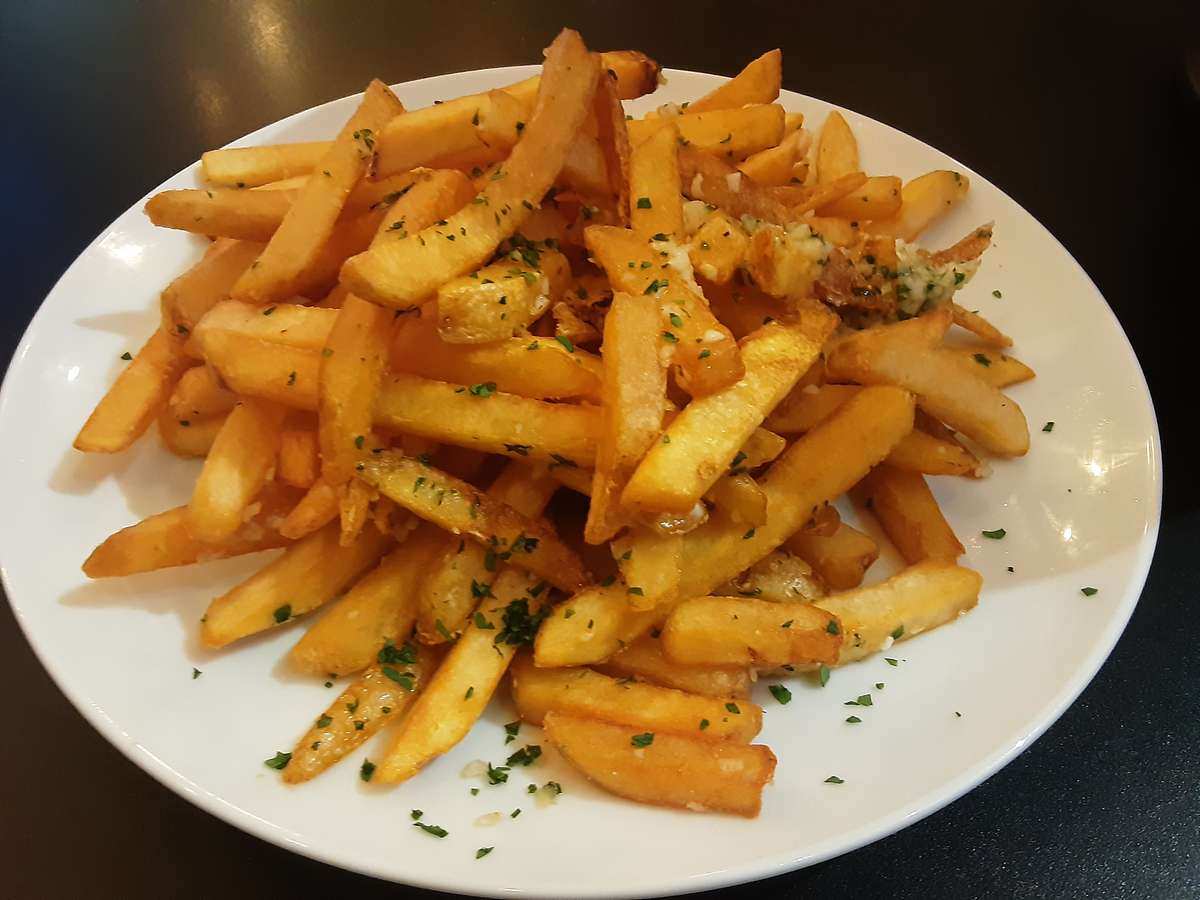 Roasted Garlic Fries