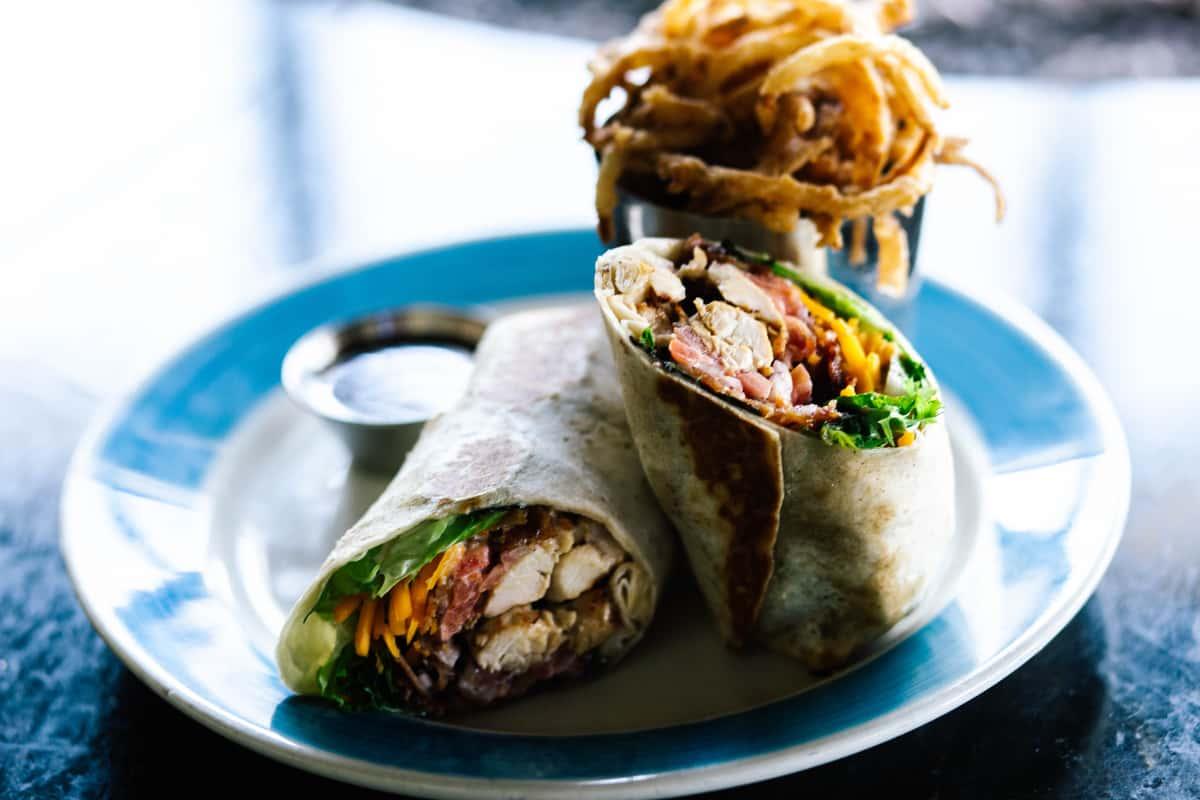 Charleston Chicken Wrap