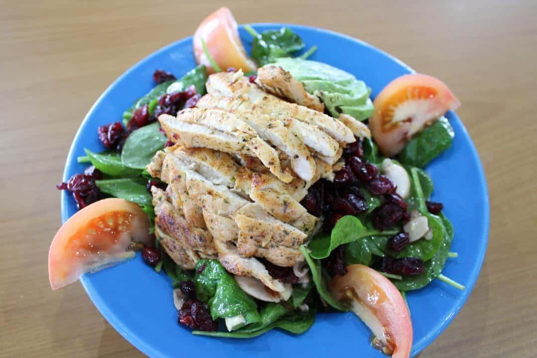 Gourmet Spinach Salad