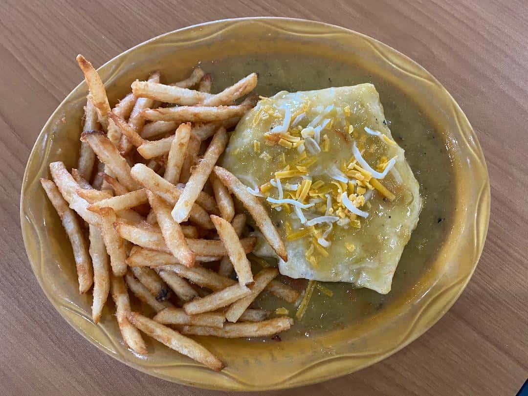 New Mexican Tortilla Burger
