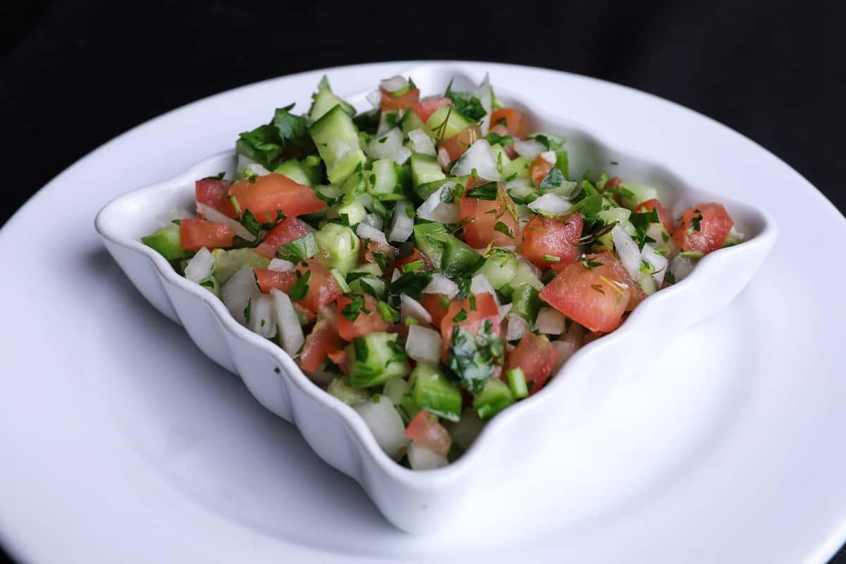 Shirazi Salad Ⓥ