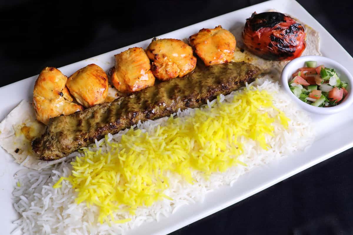 Persian Kabob Combo Plate