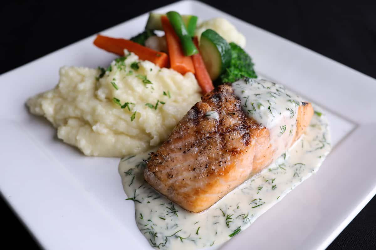 Grilled Fresh Atlantic Salmon